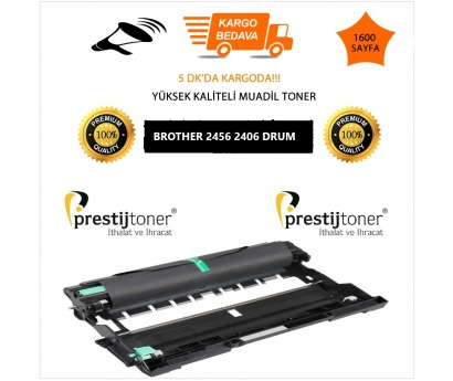 Brother DR-760 / DR-2456 2406 Muadil Drum Unitesi DCP-L2510D / 2530DW