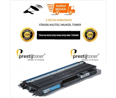 Brother TN466 Mavi Muadil Toner / DCP-L8410CDW / MFC-L8690CDW